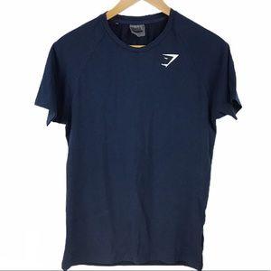 GYMSHARK   Mens Blue Shirt